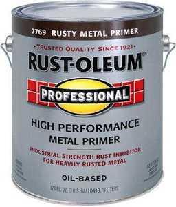 Rust-Oleum K7769402 Professional Rusty Red Primer Flat 400voc Gal
