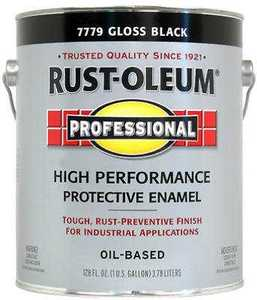 Rust-Oleum K7779402 High Performance Enamel Oil Base 400voc Gallon Black