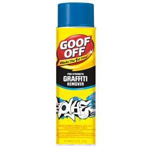 Goof Off 080047110672 Graffiti Remover Fg672 16 oz Aerosol