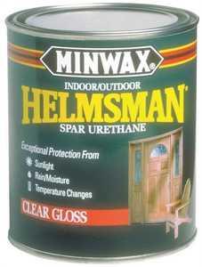 Minwax 27426632004 helmsman interior exterior spar - Exterior polyurethane wood finish ...