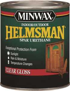 Minwax 27426432000 Helmsman Interior/Exterior Spar Urethane Clear High-Gloss Finish Pint