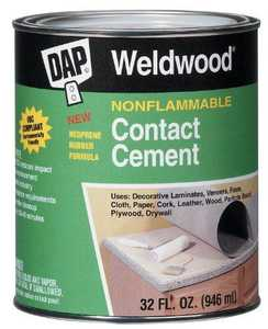 DAP Inc 25332 Cement Contact Nonflammable Qt