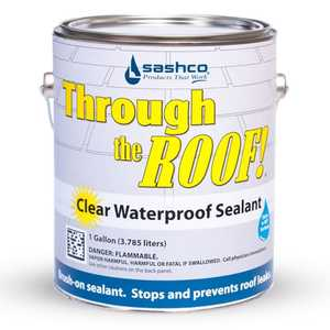 Sashco 3152514004 Through The Roof Clear Gal