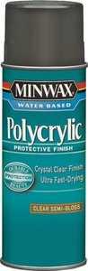 Minwax 27426344440 Interior Water-Based Polycrylic Clear Semi-Gloss Finish 11-1/2-Ounce Can