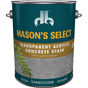 Duckback DB60504 Mason's Select Transparent Acrylic Concrete Stain In Sandstone 1 Gal