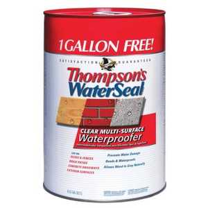 Thompsons 68126 Water Seal 6 Gal Bonus Can