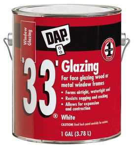 Dap 7079812019 Glazing 33 Gal White