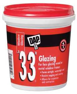 Dap 7079812120 Glazing 33 1/2 Pt White