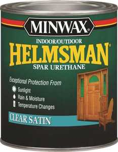 Minwax 27426432055 Helmsman Interior/Exterior Spar Urethane Clear Satin Finish Pint