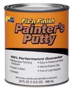 White Lightning WL08116 Painter Putty Qt