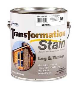 Sashco 67304 Transfrmation Log & Timber Stain Natural Gallon