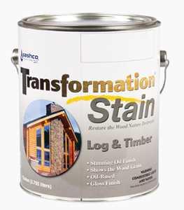 Sashco 67254 Transfrmation Log & Timber Stain Red Tone Medium Gallon