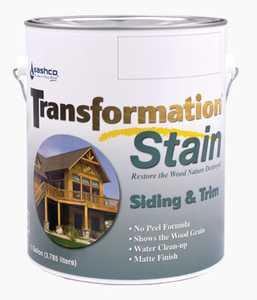 Sashco 67544 Transfrmation Siding & Trim Stain Brown Tone Medium Gallon
