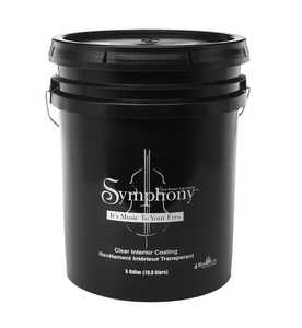 Sashco 77415 Symphony Interior Wood Finish Clear Gloss 5 Gal