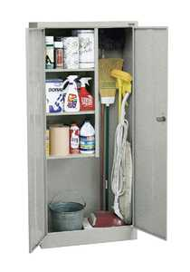SANDUSKY LEE CORP VFC1301566-MG Janitorial Cabinet 30x15x66 Multi Granite Color