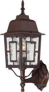 Satco Products 60-4925 1-Light 17-Inch Rustic Bronze Banyon Outdoor Wall Light
