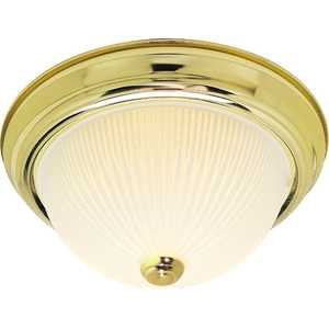 Satco Nuvo Lighting 76-132 2-Lights 13 in Flush Mount Ceiling Light