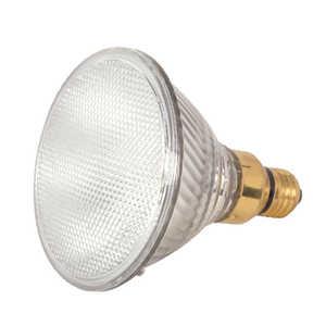 Satco Products S2257 70-Watt Par38 Clear Halogen 3000k Dimmable Light Bulb