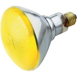Satco Nuvo Lighting S4426 100 Watt Br38 Yellow Incandescent Bulb