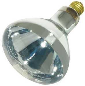 Satco Nuvo Lighting S4750 125-Watt R40 Clear Heat Incandescent Bulb