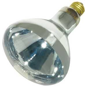 Satco Nuvo Lighting S4999 250 Watt R40 Clear Heat Incandescent Bulb