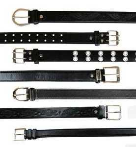 Samara Vendrell BELT Assorted Black Leather Belts