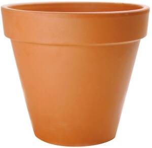Central Garden 100043021 Flower Pot 16.5 in Terra Cotta