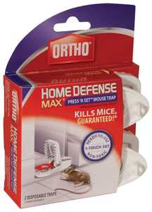 Ortho 0321110 Home Defense Max Press & Set Mouse Trap 2pk