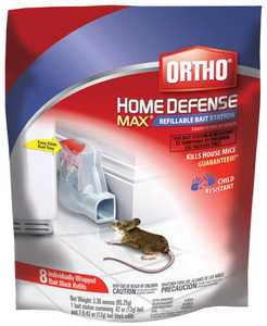 Ortho 321510 Home Defense Max Refillable Bait Station