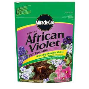 Miracle-Gro 72678500 Miracle Gro African Violet Soil 8 Qt