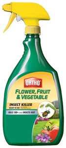 Ortho 0331320 Max Flower Fruit & Vegetable Insect Rtu 32 oz
