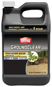 Ortho 0430510 GroundClear Vegetation Killer Gallon Concentrate