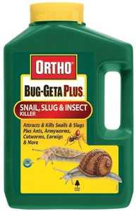 Ortho 0462510 Bug Geta Snail/Slug Plus 3lb