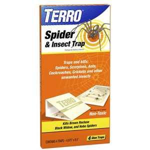 Terro 3200 Spider Trap 4pk