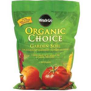 Scotts Miracle-Gro 72851510 Organic Choice Garden Soil 1cf