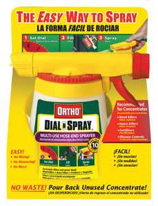 Ortho 0836560 Dial N Spray Hose End Sprayer