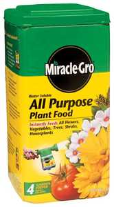 Miracle-Gro 1001233 Water Soluble All Purpose Plant Food 5 Lbs.