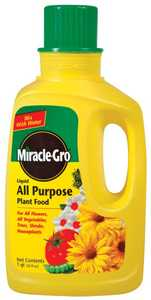 Miracle-Gro 1001501 Miracle Gro Liquid Fertilizer 32 oz