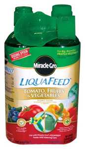 Scotts Miracle-Gro 100440 LiquaFeed Plant Food For Tomatoes, Fruits And Vegtables, 2 Pack Refill