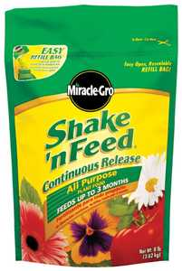 Miracle-Gro 1007191 Shake 'n Feed All Purpose Continuous Release Plant Food 8 Lbs.