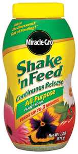 Scotts Miracle-Gro 1008131 Shake-N Feed All Purpose Plant Food 1.8lb