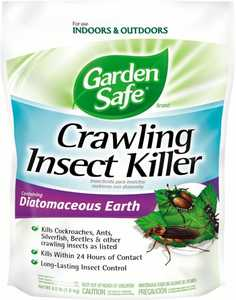 Garden Safe HG-93186 Crawling Insect Killer Containing Diatomaceous Earth 4sLbs