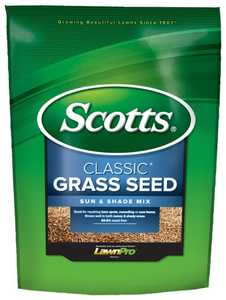 Scotts 17183 Classic Sun And Shade Mix Grass Seed, 3 Lb