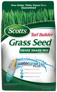 Scotts 18338 Turf Builder Dense Shade Tall Fescue Grass Seed 3lb