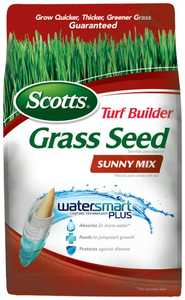 Scotts 18345 Turf Builder Sunny Mix Grass Seed 3lb