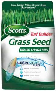 Scotts 18348 Turf Builder Dense Shade Grass Seed 3lb