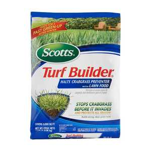 Scotts 32367D Turf Builder Halts Crabgrass Preventer With Lawn Food