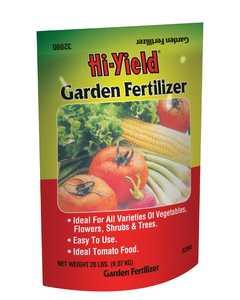 Hi-Yield FH32090 Garden Fertilizer 8-10-8 20 Lbs