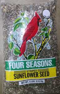 SHAFER SEED CO BD032 Four Seasons Striped Sunfower Seed 5lb