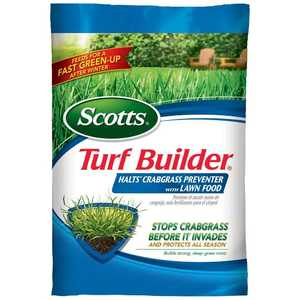 Scotts 31115 Turf Builder Halts Crabgrass Preventer With Lawn Food, 40.5 Lb